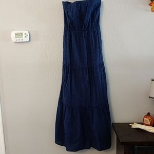 Old Navy Sleeveless Eyelet Maxi Dress, M